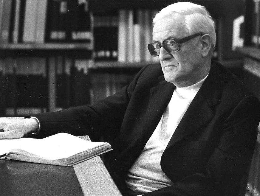 Heinrich Sutermeister auf einer Aufnahme aus dem Jahr 1982.