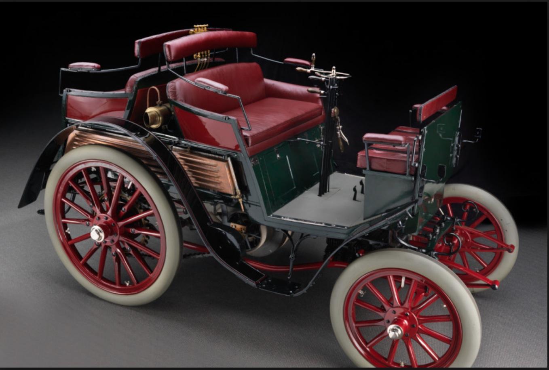 Der Benz Jahrgang 1901 war das erste Auto, das durch Feuerthalen fuhr.